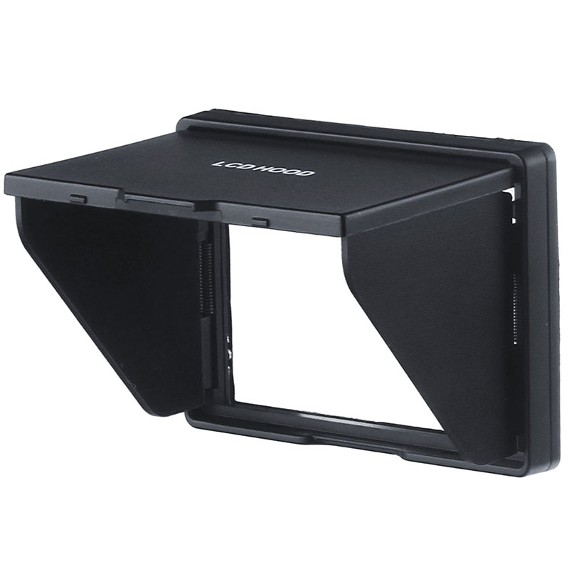 LCD Screen Protector Pop-up sun Shade lcd Hood Shield Cover for Mirrorless Digital CAMERA FOR FUJIFILM HS33EXR <font><b>HS35EXR</b></font> HS28EXR image