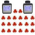 Reloj inalámbrico Camarero Restaurante Sistema de Llamada de Buscapersonas Coaster Reloj de Huéspedes Para Hospital Enfermera 433 MHz Restaurantes Equipo