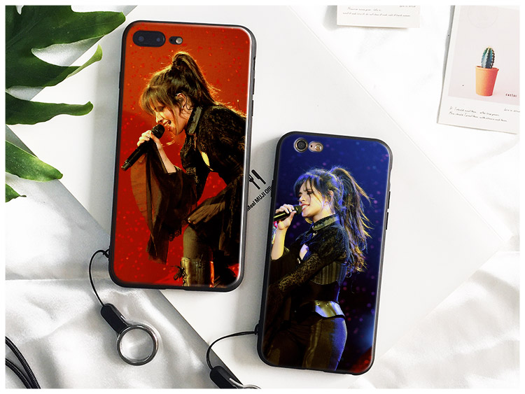 Camila Cabello Mila Camz Kaki Soft Silicone Phone Case Cover Shell For Apple IPhone 5 Se 5s 6 6s Plus 7 8 7Plus 8Plus X
