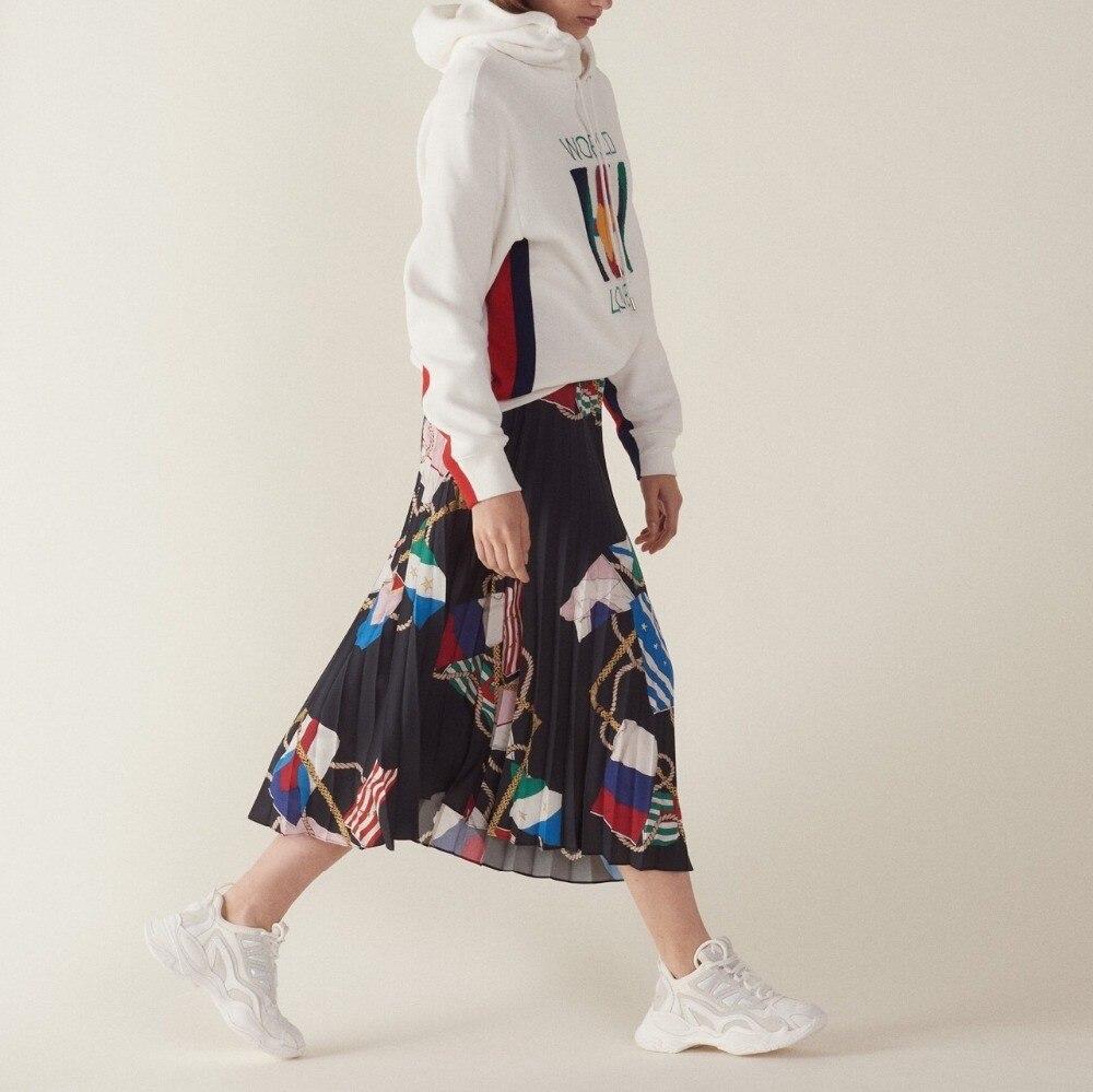 9bd0468c446 Estilo Moda Mujeres 2019 Faldas De Retro Primavera Vintage Nueva Las  n67xPq7B