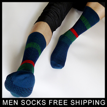 New Arrival Men cotton Dress suit socks Winter Sexy Mens Woven Business 1 Pair retail