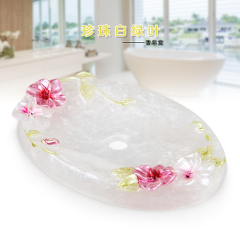 Lishui without cover soap soap dish toilet bath soap box simple travel non ceramic resin