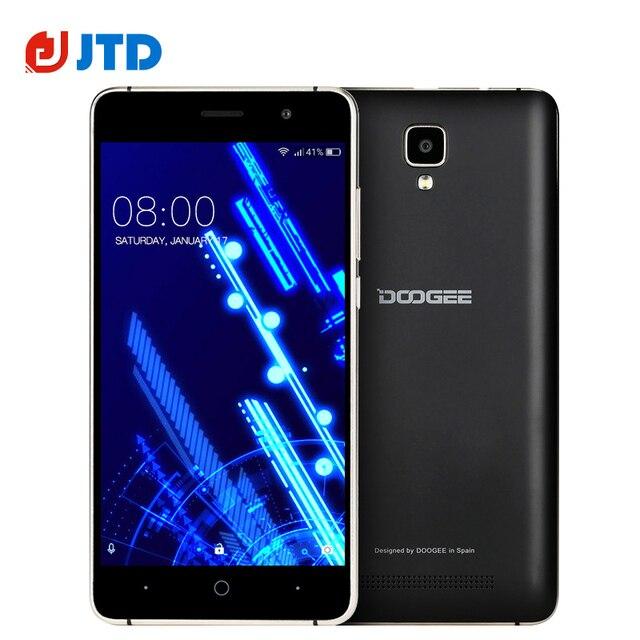 Original DOOGEE X10 3G Smartphone 3360mAh Battery Android 6.0 MT6570 Dual Core 5.0 Inch IPS 8GB ROM Loud Speaker OTA Mobilephone