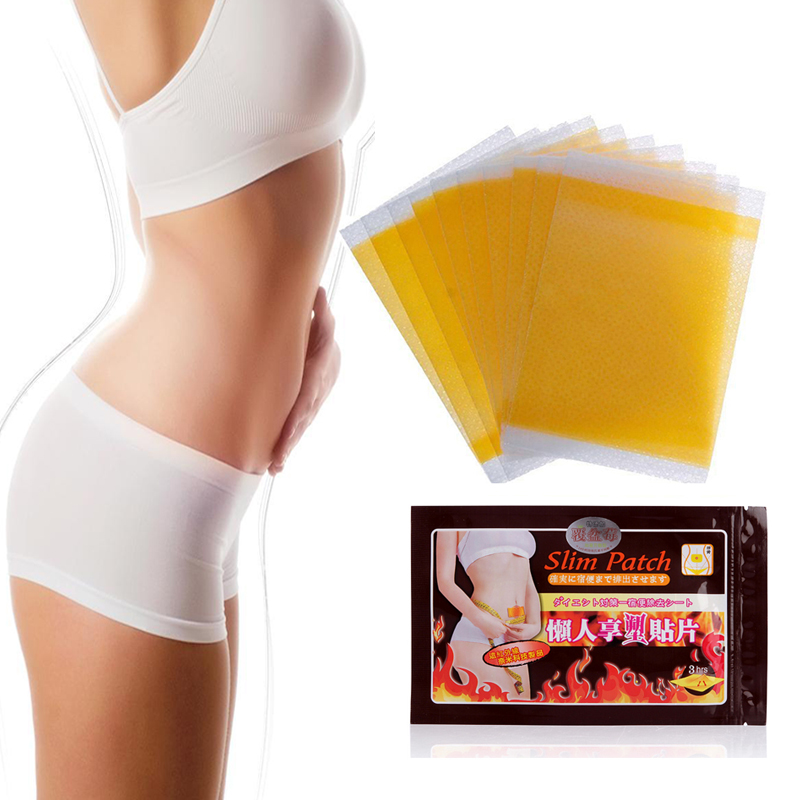 20Pcs Slimming Navel Stick Slim Patch Weight Loss Burning Fat Patch Fat Burning Health Care Chinese Herbal Medical Plaster D0723(China)