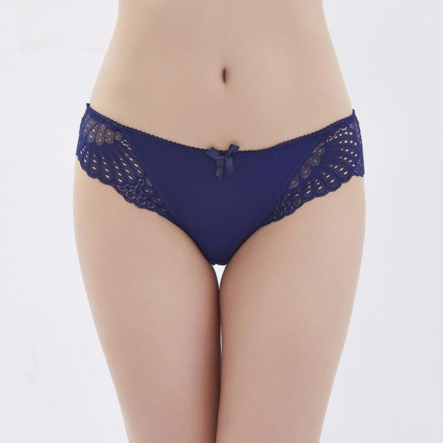 Underwear Low Waist Panties Briefs for Female Hipster Underpant 2
