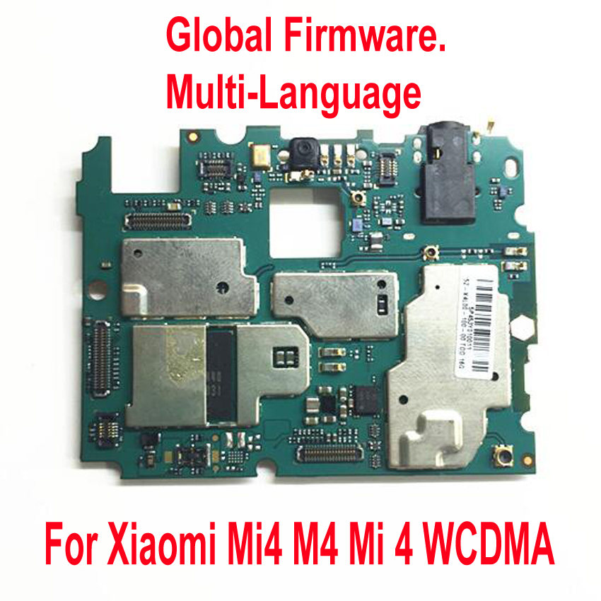 Déverrouiller la carte mère globale du micrologiciel pour Xiao mi mi 4 mi 4 M4 WCDMA 3G 4G LTE carte mère