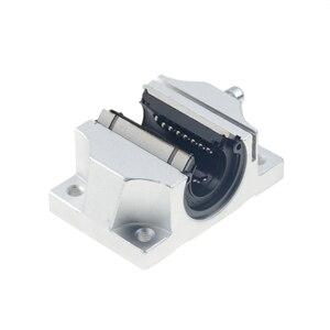 Image 4 - 4 шт., бесплатная доставка, TBR20UU, 20 мм, Линейный шаровой подшипник, поддержка блока, фрезерный станок с ЧПУ