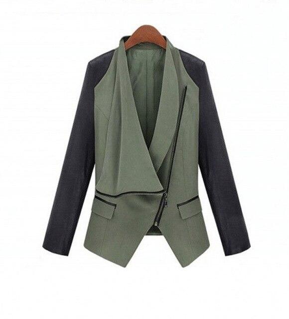 2015 Nova Outono Inverno Mulheres casaco XieJin Juntando Cultivar Jaqueta de Couro das Mulheres de couro PU Jaqueta Silm