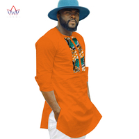traditional african clothing for men print shirt wedding traditional men full sleeve african cloth dashiki plus size 4xl WYN361