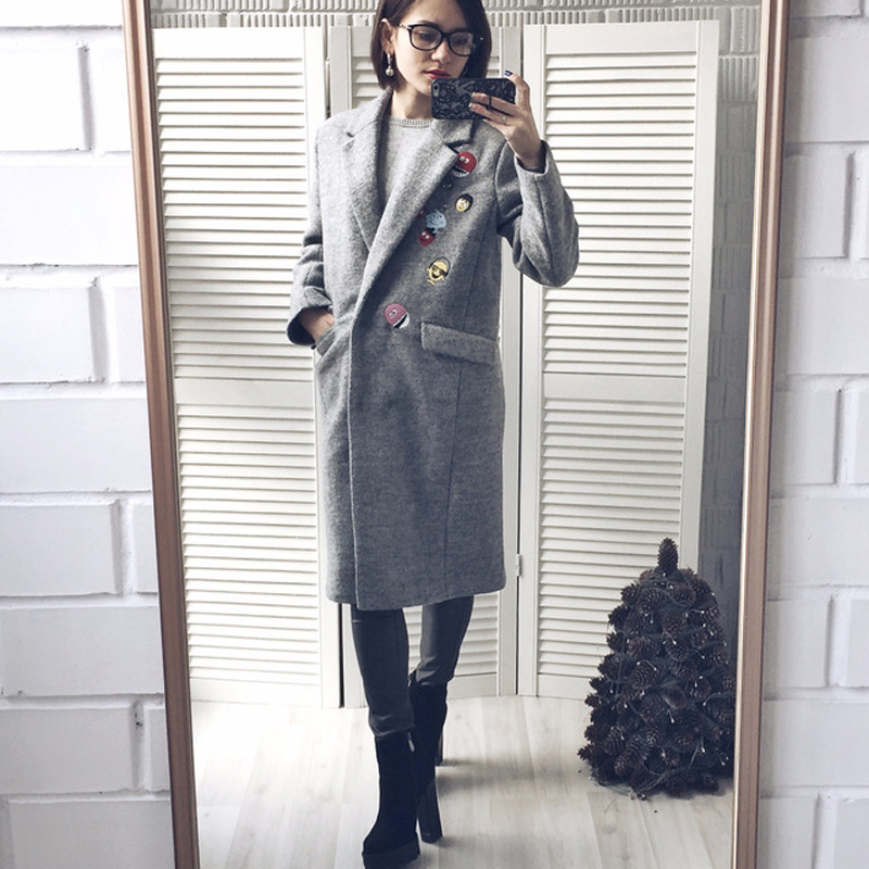 e628cdae5718 Buy coat wool cute and get free shipping on AliExpress.com