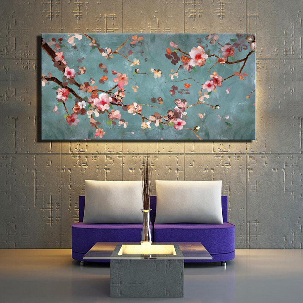 Aliexpress.com : Buy Plum Blossom Canvas Paintings For