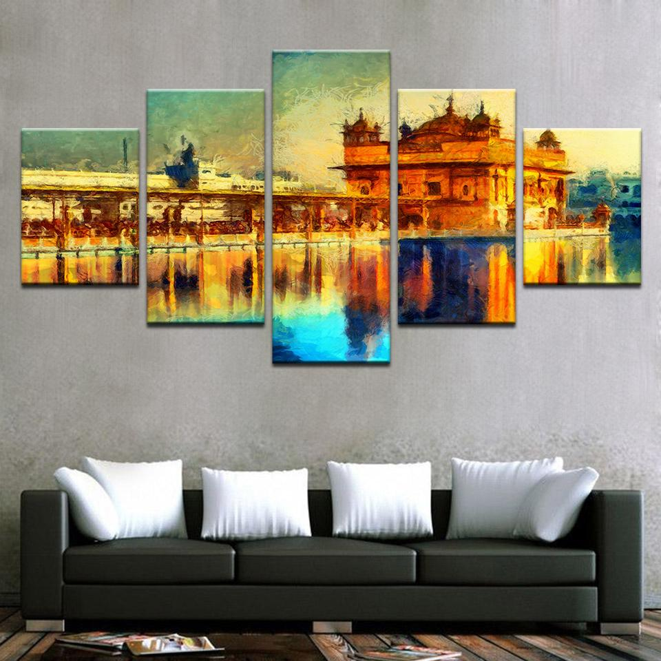Canvas Wall Art Pictures Framework Home Decor Living Room