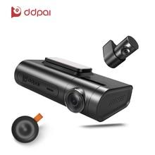 DDpai X2 Pro Car Camera 1440P FHD Night Vision Recording Dash Cam Dual Lens Car Recorder Wireless Remote Snapshot Car DVR