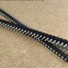 20 шт. 1x40 Pin 2,54 2,54 мм полоса Оловянная печатная плата панель IC разбиваемый 40pin коннектор круглый гнездовой штырь коннектор