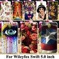 PC Pintado TPU Macio Casos De Telefone de Silicone Para Wileyfox Swift 5.0 polegadas x50 wileyfox swift 2 swift2 plus case shell cobre saco pele