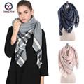 2016 European Fashion big striped women imitate cashmere Winter big shawls Female Scarf ladies scarves women's big wraps Z1674