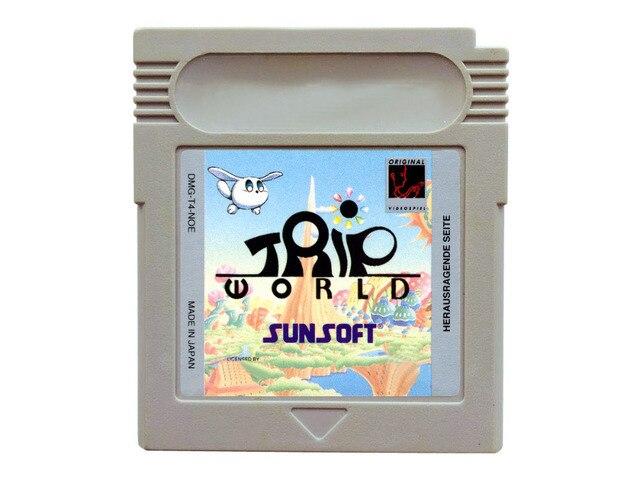 8bit game card : Trip World ( USA Version!! )