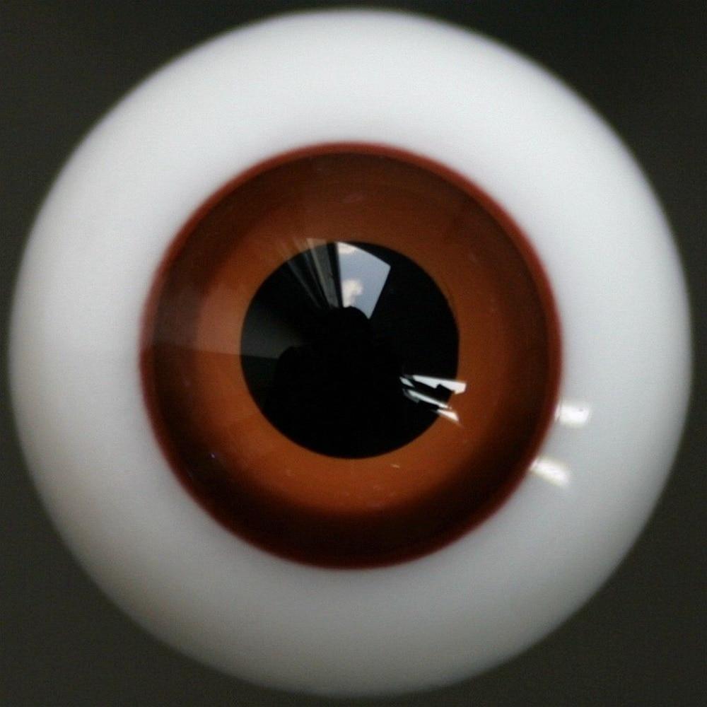 PF Y20#12mm Wine Red For BJD Doll Dollfie Glass Eyes