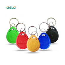 100pcs/lot RFID  Token Tag Key Keyfobs Ring 125Khz RFID Card ID Token Tags for Access Control Time Attendance homsecur 100pcs blue125khz rfid proximity id token tag key ring high quality brand new
