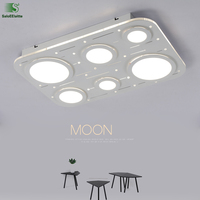 Modern Lustre Acrylic Led Ceiling Lights Fixtures Creative Metal Bedroom Led Ceiling Lamp Luminaria Led Ceiling