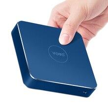 Хит продаж сливовый компьютер VOYO vmac Мини-ПК Intel Celeron N4200U 4 г/8 г 120 г SSD Pocket PC Celeron N3450 Бесплатная доставка