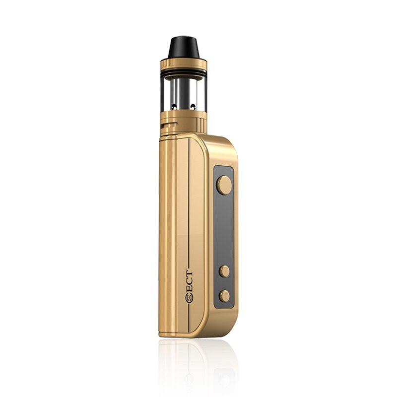 ECT voyageur TC80 80 W Kit de démarrage 2200 mah batterie Vape Kit de stylo 2.0 ml atomiseur e cigarette Kit pour liquide