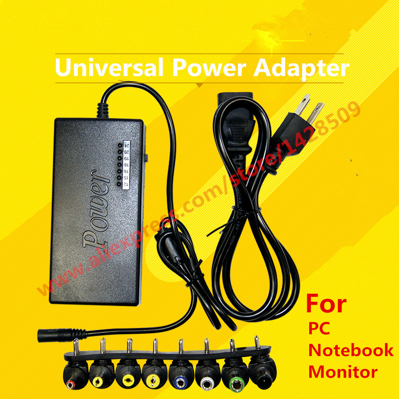 2016 NEW 96W Power Adapter Universal PC Laptop Notebook AC Charger Power Adapter For Computer Laptop Monitor 45w 14 tip adjustable output voltage universal power charger charging ac adapter for laptop notebook aqjg