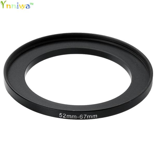 52-67 Mm Metal Step Up Rings Lens Adapter Filter Set