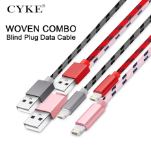 CYKE USB Cable for iphone Cable Xs max Xr X 8 7 6 plus 6s 5 s plus ipad mini Fast Charging Cables Mobile Phone Charger Cord Data цена и фото