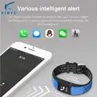 Nouveau bracelet intelligent bracelet divers alerte intelligente étanche IP68 HD affichage et plein écran tactile lisse pk mi bande 2