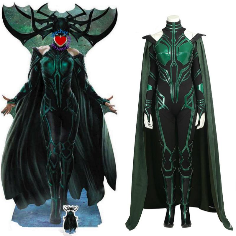 Vestido con capa Akatsuki Cosplay Vestidos para Hela Diosa de la - Disfraces