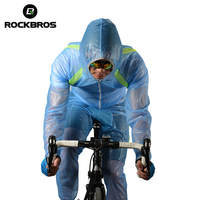 ROCKBROS Cycling Windcoat Mountain Bicycle Bike Riding Raincoat Pants Breathable Compressed Windshield Waterproof Wind Coat Suit