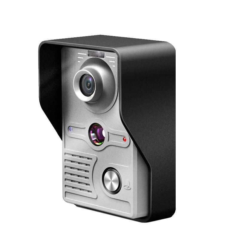 Yobangsecurity 7 дюймов tft ЖК-дисплей Главная Безопасность Видео Домофонные Дверные звонки домофон комплект 1 ИК-Камера с Ночное видение 2 мониторы