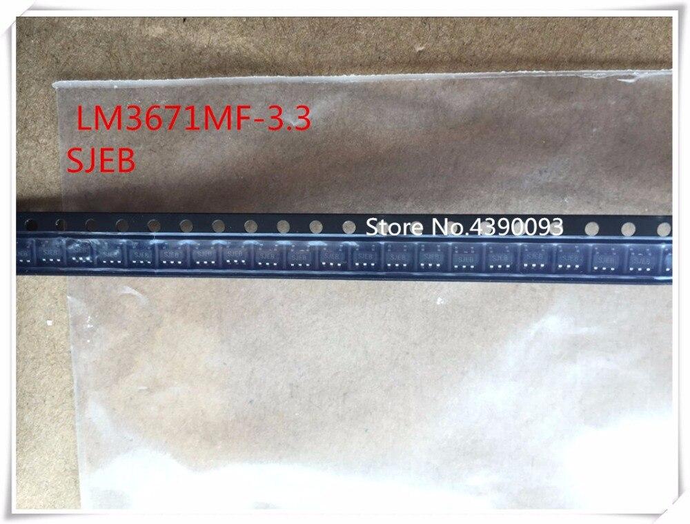 50pcs/lot  LM3671MF-3.3   SJEB  LM3671MF  SOT23-5