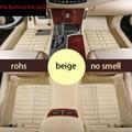 free shipping leather car floor mat for bmw  3 series e46 316i 318i 320i 325i 328i 330i 1998 1999 2000 2001 2002 2003 2004 2005