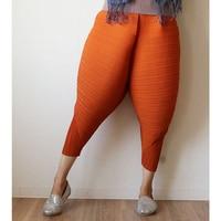 2017 New Designer Japanese High Street Style Harem Pants Women Trousers Fashion Loose Orange Fried Chicken