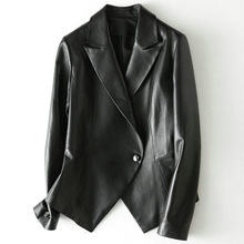 2018 New Fashion Genuine Sheep Leather Jacket H47