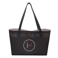Beach bag Handbag Twenty One Pilots Prints Women Shopping bag Tote Shoulder Bags Ladies luxury handbags women bags designer