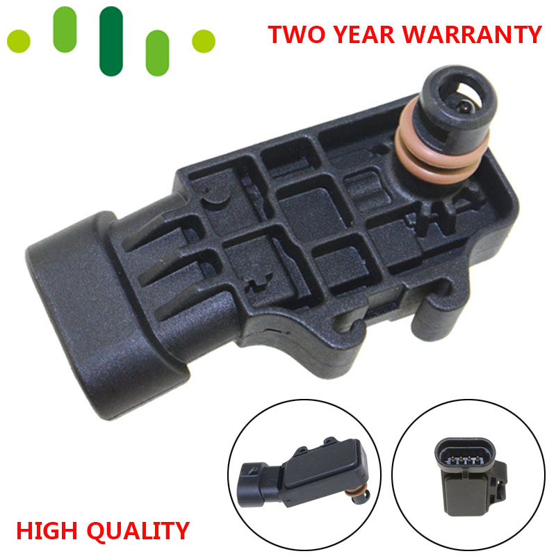 12232201 93333350 MAP Sensor For Mistubishi ALFA ROMEO FIAT GM NISSAN OPEL RENAULT SMART DELPHI CHERY Great wall CHEVROLET