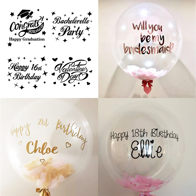 Personalised Stickers Handmade by Labels Various sizes ANY NAME Watering Can H22