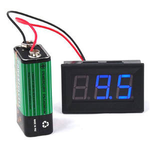 Monitor Voltmeter Adapter Converters Color-Tester Digital Green DC Red LC Blue