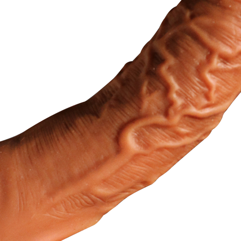 New silicone large Male penis sleeve enlarge strap on bondage cock ring extender thick condoms solid head Reusable sex toy dildo in Dildos from Beauty Health