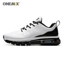 ONEMIX mężczyźni Seakers z poduszkami powietrznymi trampki Outdoor Jogging siłownia buty do biegania Max 12.5 Race Training Fitness 1118D