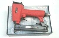 New 1pcs 425K Pneumatic Nail Gun Rrattan gun Woodworking Iron Woven Rattan Furniture Aluminum Tube 5mm Narrow Staple