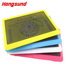 Hongsund USB Super Ultra Thin Fan Laptop Cooling Pad Notebook Radiator Notebook Cooling Pad Laptop Cooler Pad