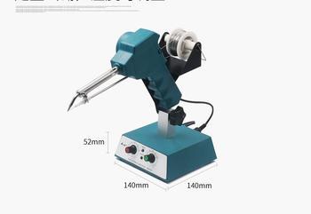 HS373 Automatically Tin feeding machine Temperature Adjustable foot-operated spot welder Point welding machine 80W