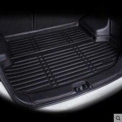 Задний багажник лайнер загрузки грузовой коврик Лоток Пол багаж ковер протектор для VW Golf 5 6 Golf GTI R R32 Rabbit MK5 MK6 2004-2014