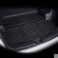 Rear Trunk Liner Boot Cargo Mat Tray Floor Luggage Carpet Protector For VW Golf 5 6 Golf GTI R R32 Rabbit MK5 MK6 2004 2014