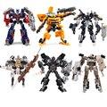 Transformação Optimus Prime Bumblebee Megatron Ironhide Starscream Deformação robô de Brinquedo tem Caixa Original