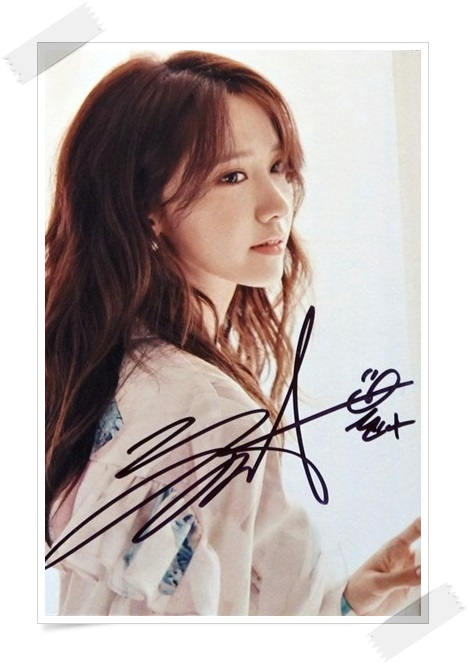 SNSD Yoona  autographed signed original photo 4*6 inches collection new korean  freeshipping 02.2017 01 signed snsd yoona autographed original photo holiday night 6 inches 56versions free shipping 082017